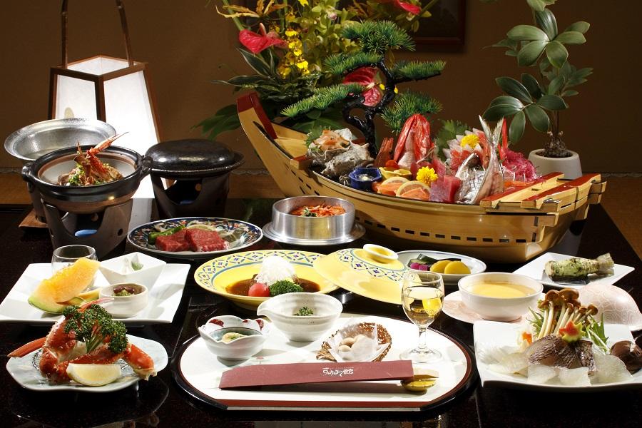宴を彩る宴会会席料理 伊豆長岡温泉 水庭の旅籠 すみよし館